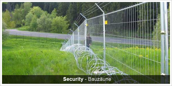 Security Bauzaun
