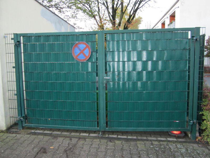 Sichtschutz an Gitterzäunen, verschiedene Varianten › Willkommen ...
