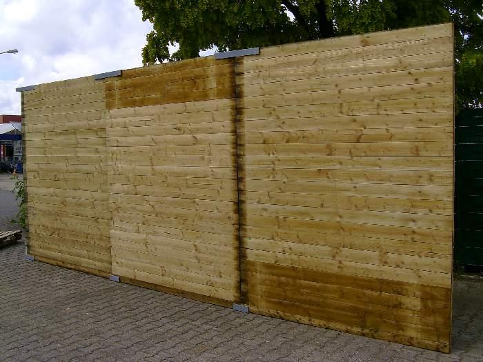 Hervorragend Holz-Bauzaun › Willkommen bei Schwarzfeller Draht und Zaun GmbH OM82