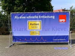 Wahlkampfwand Light