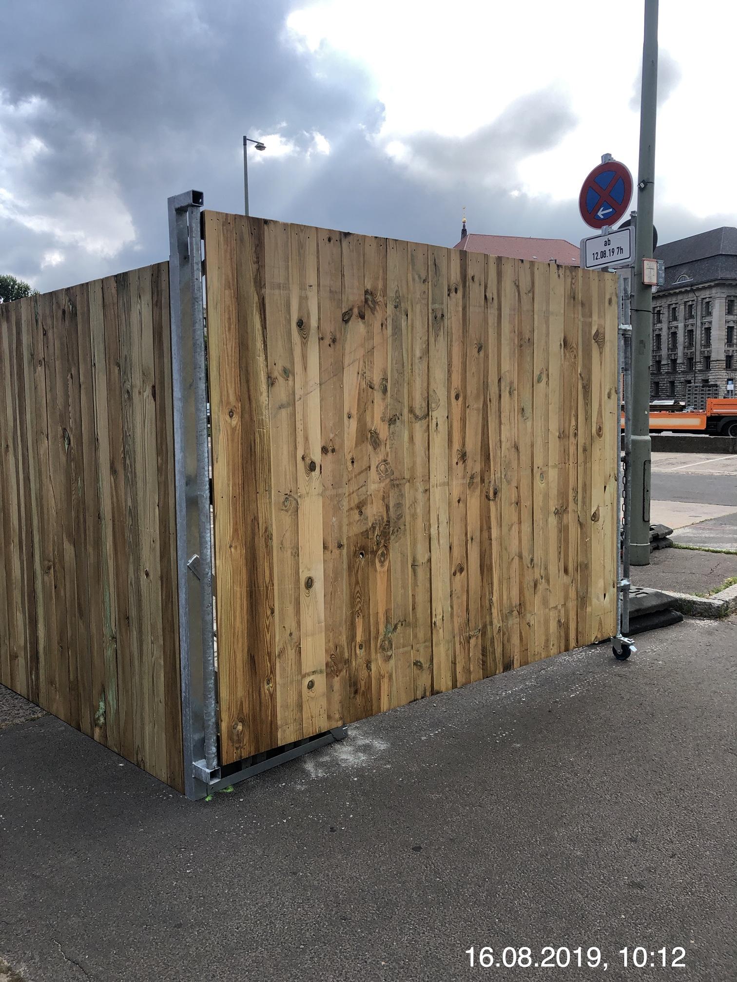 Holz Bauzaun Willkommen Bei Schwarzfeller Draht Und Zaun Gmbh